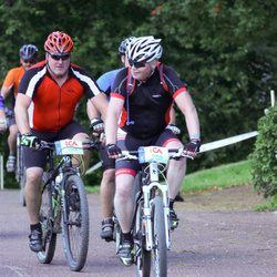 Cycling 45 km - Janne Sjögren (5098), Magnus Eliasson (5364)
