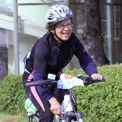 Cycling 45 km - Nanna Bergan (6013)