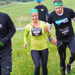 Tough Viking Stockholm - Jenny Backe (4681), Daniel Eriksson (4682)