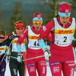 Skiing 30 km - Lina Korsgren (44)