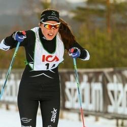 Skiing 30 km - Evelina Bångman (14)