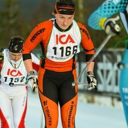 Skiing 30 km - Tua Dahlgren (1166)
