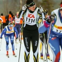 Skiing 30 km - Jenny Nilsson (1114)