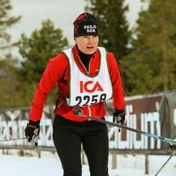 Skiing 30 km - Christina Eliasson (2258)