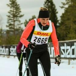 Skiing 30 km - Christine Evensson (2669)