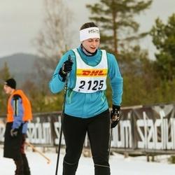 Skiing 30 km - Jennifer Andersson (2125)