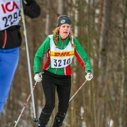 Skiing 30 km - Jenny Andersson (3210)
