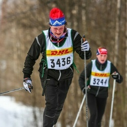 Suusatamine 30 km - Cecilia Söderpalm-Berndes (3436)