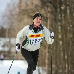 Skiing 30 km - Linda Wiklund (17204)
