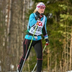 Skiing 30 km - Carin Granfors (4200)