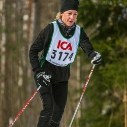 Skiing 30 km - Marie Pettersson (3174)