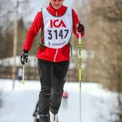 Skiing 30 km - Åsa Ljungnér (3147)
