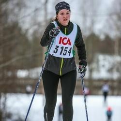 Skiing 30 km - Jenny Johansson (3154)