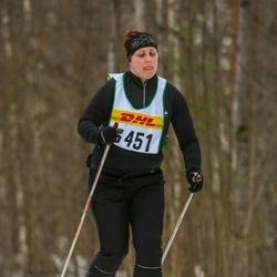 Skiing 30 km - Emelie Lindgren (3451)