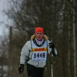 Skiing 30 km - Åsa Blidby (3448)