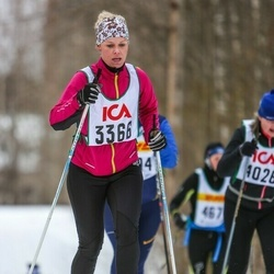 Skiing 30 km - Jennifer Carlsson (3366)