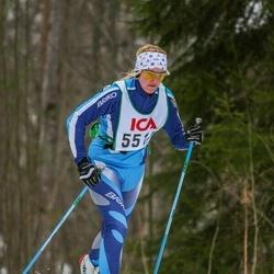 Skiing 30 km - Elin Larsson (5513)