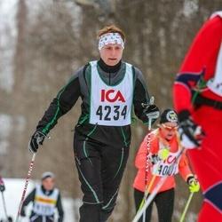 Skiing 30 km - Christine Kvennefeldt (4234)
