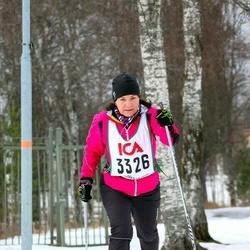 Skiing 30 km - Christina Eriksson (3326)