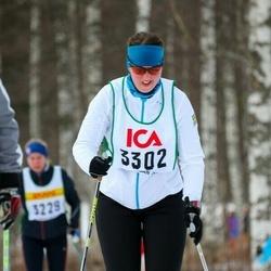 Skiing 30 km - Jenny Johansson (3302)