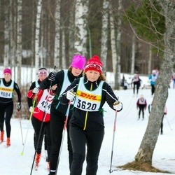 Skiing 30 km - Carina Åström (3620)