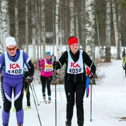Skiing 30 km - Ellinor Aspö (4058), Kristina Johansson (4400)