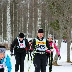 Skiing 30 km - Carina Andersson (3251), Katarina Anderberg (3473)