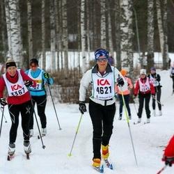 Skiing 30 km - Åsa Wallentin (3367), Annika Tjernström (4621)