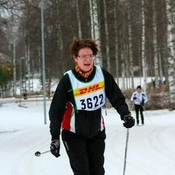 Skiing 30 km - Karin Lindén (3622)