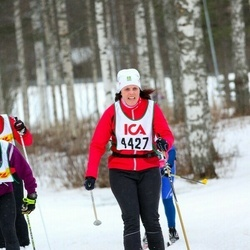 Skiing 30 km - Lillemor Nilsson (4427)