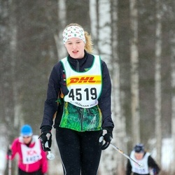 Skiing 30 km - Ebba Westerberg (4519)