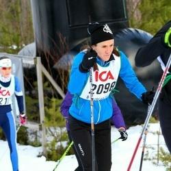 Skiing 30 km - Agneta Bergqvist (2098)