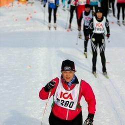 Skiing 30 km - Agneta Andersson (2280)