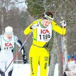 Skiing 30 km - Daniela Bjärmark (1186)