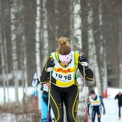 Skiing 30 km - Frida Börjesson (1046)