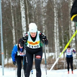 Skiing 30 km - Christina Hedlund (2140)