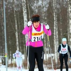 Skiing 30 km - Jenny Liodden (2142)