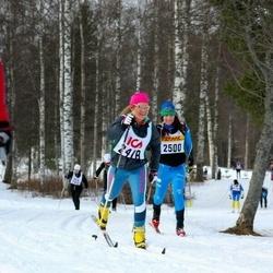 Skiing 30 km - Christina Wigren (2418), Christina Forss (2500)