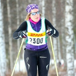 Skiing 30 km - Jenny Svensson (2300)