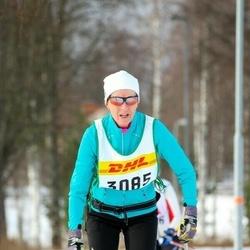 Skiing 30 km - Barbro Gustafsson (3085)