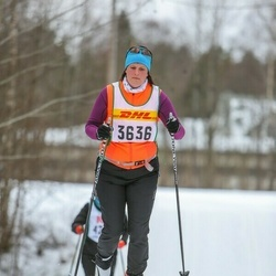 Skiing 30 km - Sarah Hessle (3636)