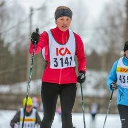 Skiing 30 km - Felicia Fagerlund (3141)