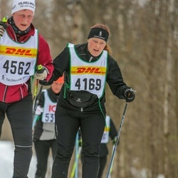 Skiing 30 km - Jeanette Svahn (4169)