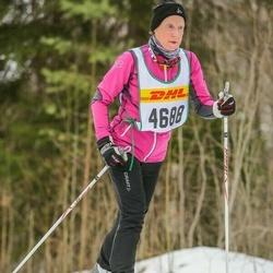 Skiing 30 km - Aina Ågren Wilsson (4688)