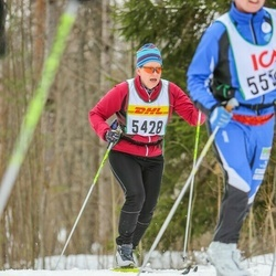 Skiing 30 km - Britt Hermansson (5428)