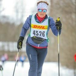 Skiing 30 km - Carina Jobson (4326)