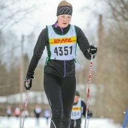Skiing 30 km - Elin Forsén (4351)