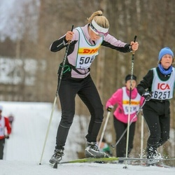 Skiing 30 km - Agneta Browall (5083)