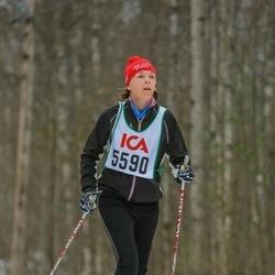 Skiing 30 km - Agneta Pernvik (5590)
