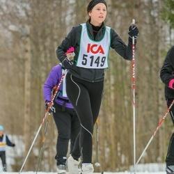Skiing 30 km - Alexandra Nilsson (5149)